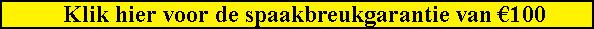 FRIEKE BIKEBOOSTING GEEFT EEN UNIEKE GARANTIE IVM SPAAKBREUK: U KRIJGT €100 RETOUR